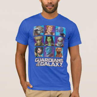 Guardians of the Galaxy | Crew Grid T-Shirt