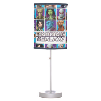 Guardians of the Galaxy | Crew Grid Table Lamp