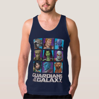 Guardians of the Galaxy | Crew Grid Tank Top