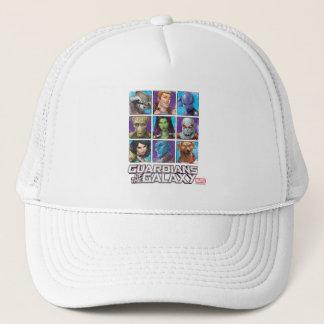Guardians of the Galaxy   Crew Grid Trucker Hat