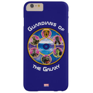 Guardians of the Galaxy | Crew In Neon Circles Barely There iPhone 6 Plus Case