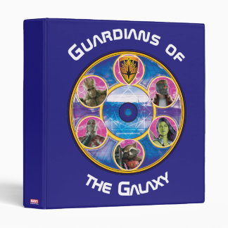 Guardians of the Galaxy | Crew In Neon Circles Binder