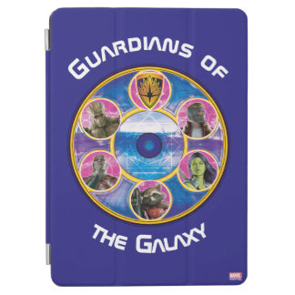 Guardians of the Galaxy | Crew In Neon Circles iPad Air Cover