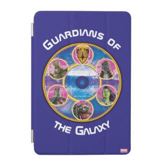 Guardians of the Galaxy   Crew In Neon Circles iPad Mini Cover