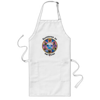 Guardians of the Galaxy | Crew In Neon Circles Long Apron