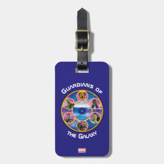 Guardians of the Galaxy | Crew In Neon Circles Luggage Tag