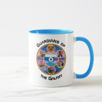 Guardians of the Galaxy | Crew In Neon Circles Mug