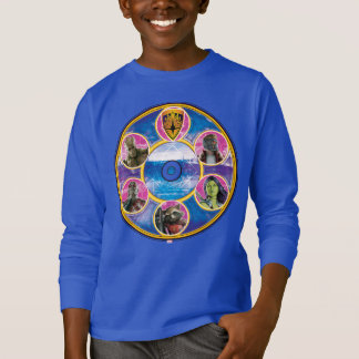 Guardians of the Galaxy | Crew In Neon Circles T-Shirt