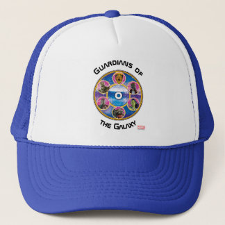 Guardians of the Galaxy | Crew In Neon Circles Trucker Hat