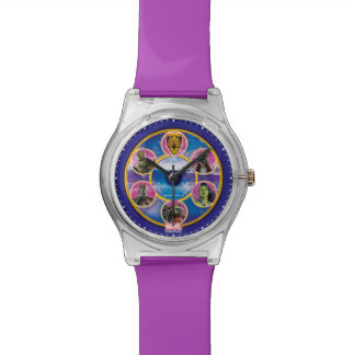 Guardians of the Galaxy | Crew In Neon Circles Wrist Watch