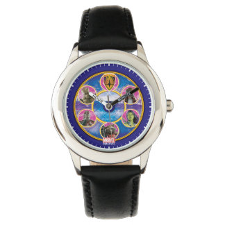 Guardians of the Galaxy | Crew In Neon Circles Wrist Watches