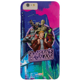Guardians of the Galaxy | Crew Neon Sign Barely There iPhone 6 Plus Case