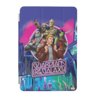 Guardians of the Galaxy | Crew Neon Sign iPad Mini Cover