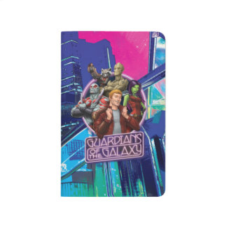 Guardians of the Galaxy | Crew Neon Sign Journal