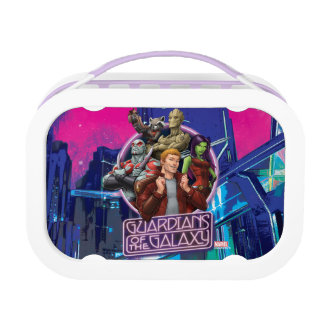 Guardians of the Galaxy | Crew Neon Sign Lunch Box