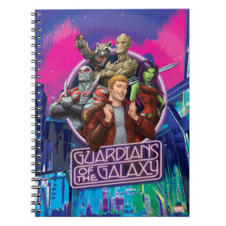 Guardians of the Galaxy | Crew Neon Sign Notebooks