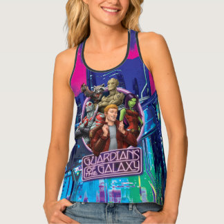 Guardians of the Galaxy | Crew Neon Sign Tank Top