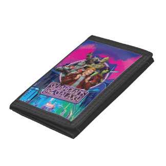 Guardians of the Galaxy | Crew Neon Sign Trifold Wallets