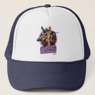 Guardians of the Galaxy   Crew Neon Sign Trucker Hat