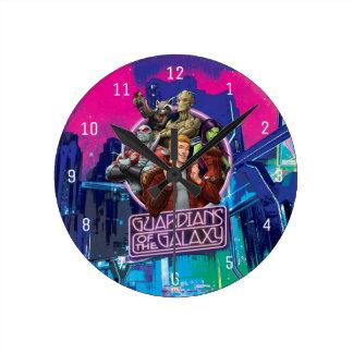 Guardians of the Galaxy | Crew Neon Sign Wallclocks