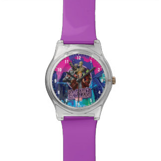 Guardians of the Galaxy | Crew Neon Sign Wrist Watch
