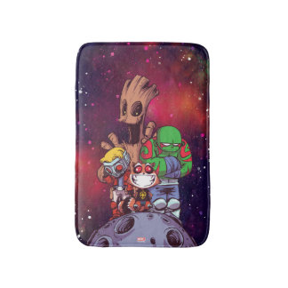 Guardians of the Galaxy | Crew On Asteroid Bath Mat