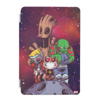 Guardians of the Galaxy | Crew On Asteroid iPad Mini Cover