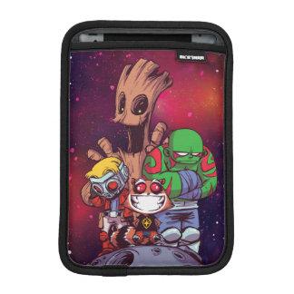 Guardians of the Galaxy   Crew On Asteroid iPad Mini Sleeve