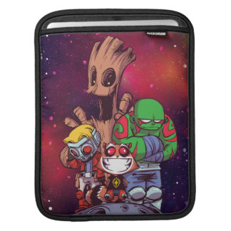 Guardians of the Galaxy   Crew On Asteroid iPad Sleeve