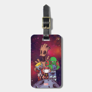 Guardians of the Galaxy | Crew On Asteroid Luggage Tag