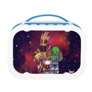 Guardians of the Galaxy | Crew On Asteroid Lunch Box