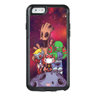 Guardians of the Galaxy | Crew On Asteroid OtterBox iPhone 6/6s Case