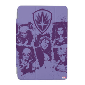 Guardians of the Galaxy | Crew Paint Grid iPad Mini Cover