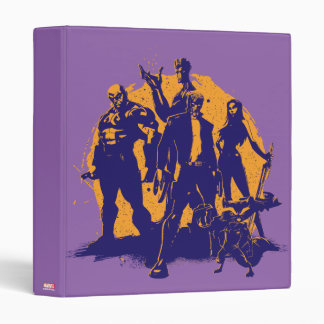 Guardians of the Galaxy | Crew Paint Silhouette Binder