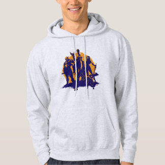 Guardians of the Galaxy | Crew Paint Silhouette Hoodie