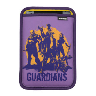 Guardians of the Galaxy | Crew Paint Silhouette iPad Mini Sleeve