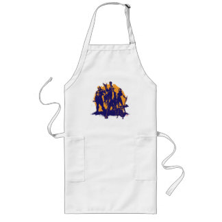 Guardians of the Galaxy | Crew Paint Silhouette Long Apron