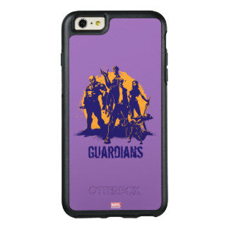 Guardians of the Galaxy | Crew Paint Silhouette OtterBox iPhone 6/6s Plus Case