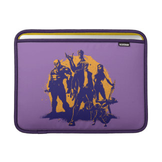 Guardians of the Galaxy | Crew Paint Silhouette Sleeve For MacBook Air