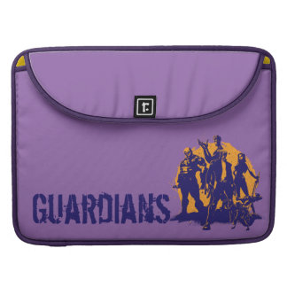 Guardians of the Galaxy | Crew Paint Silhouette Sleeve For MacBook Pro
