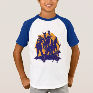 Guardians of the Galaxy | Crew Paint Silhouette T-Shirt