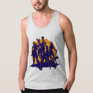 Guardians of the Galaxy | Crew Paint Silhouette Tank Top