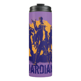 Guardians of the Galaxy | Crew Paint Silhouette Thermal Tumbler
