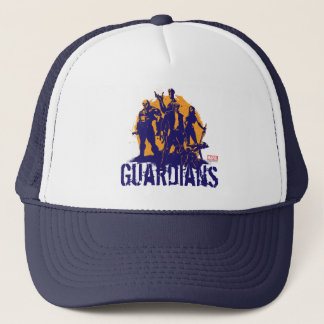 Guardians of the Galaxy | Crew Paint Silhouette Trucker Hat