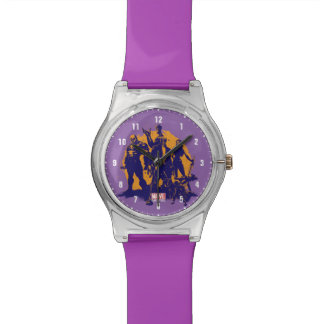 Guardians of the Galaxy | Crew Paint Silhouette Wristwatch