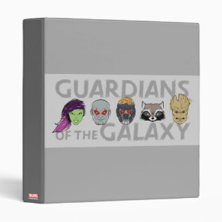 Guardians of the Galaxy | Crew Rough Sketch 3 Ring Binders