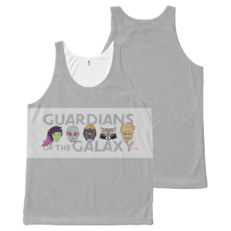 Guardians of the Galaxy | Crew Rough Sketch All-Over-Print Tank Top