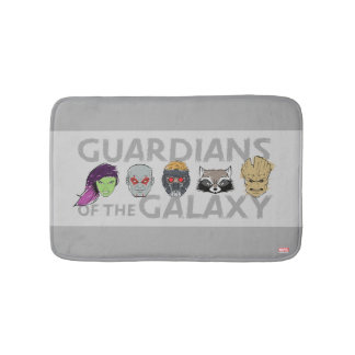 Guardians of the Galaxy | Crew Rough Sketch Bath Mat