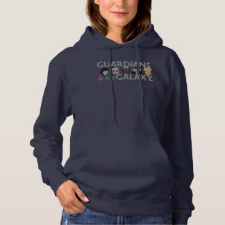 Guardians of the Galaxy | Crew Rough Sketch Hoodie