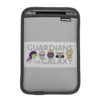 Guardians of the Galaxy   Crew Rough Sketch iPad Mini Sleeve